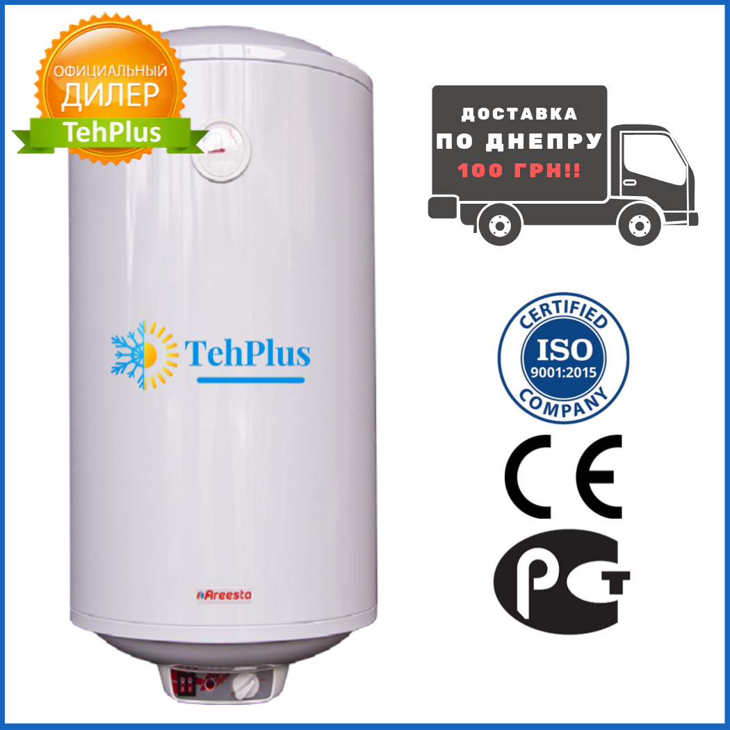 Бойлер, Areesta Bubble, Water heater 100 I (мокрый тен) 100 л.